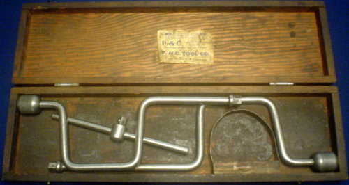Troy Dietz P&C wooden box with Spokane label