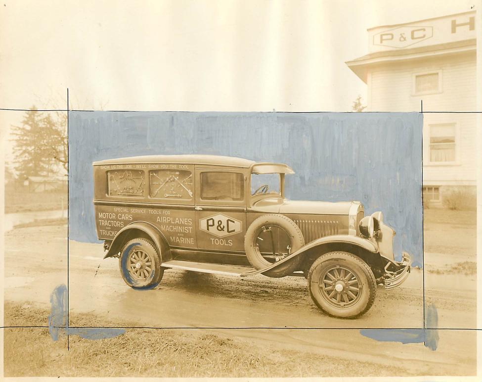 P & C Tool company car