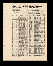 1960 Price Lists