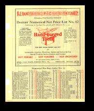 1941 Price Lists