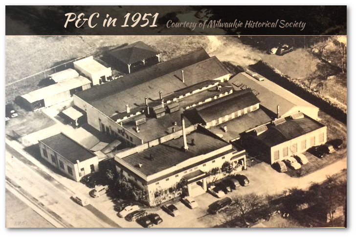 P&C Factory as seen in 1951