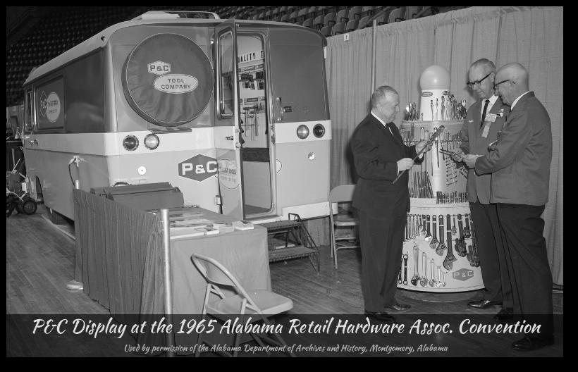 P&C Clark Cortez tool display motorhome, 1965