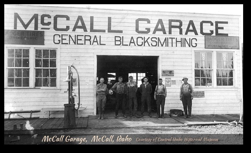 McCall Garage circa 1915-1925