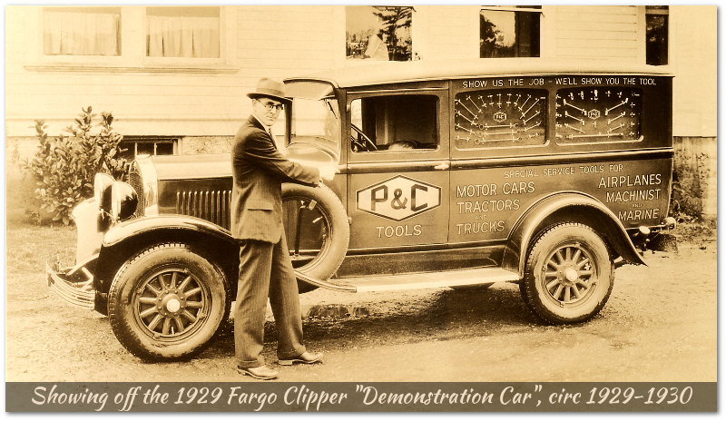 P&C 1929 Fargo Clipper Demonstration Car, circa 1929-1930