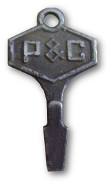P&C promotional key-chain screwdriver