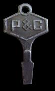 P&C promotional key-chain screwdriver
