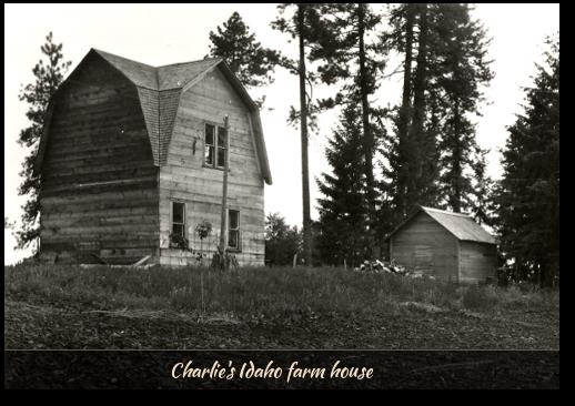 Charlie Carlborg's Idaho farm house