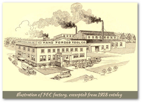 Illustration of P&C factory from 1928 catalog